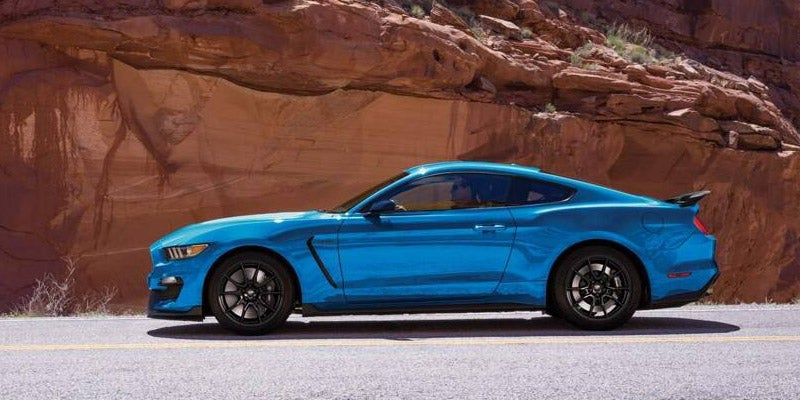 2019 Ford Mustang GT Premium Convertable in Ingot Silver