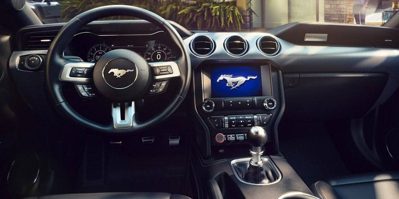 2019 Ford Mustang Well Appointed Interior.