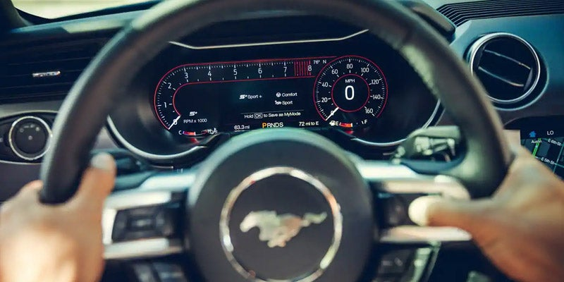 2018 Ford Mustang Easy to Reach Controls
