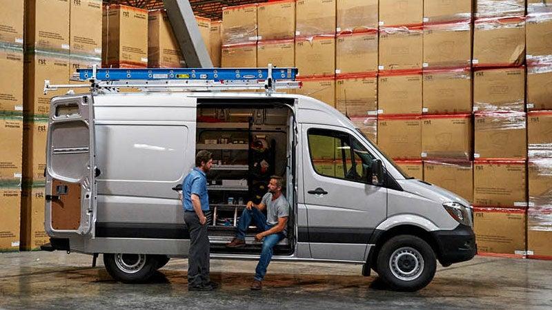 Permalink to 2017 Mercedes Benz Sprinter Cargo Van